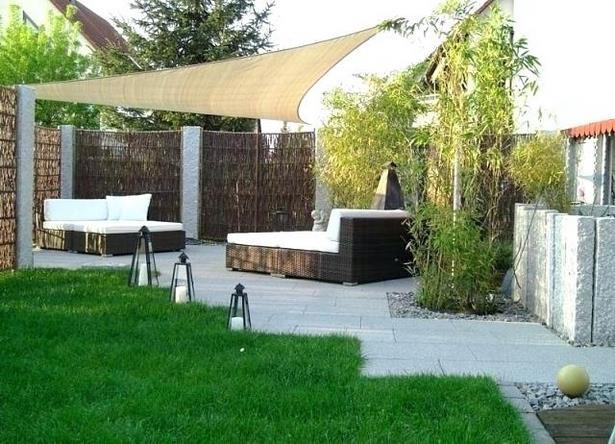 Garten minimalistisch gestalten